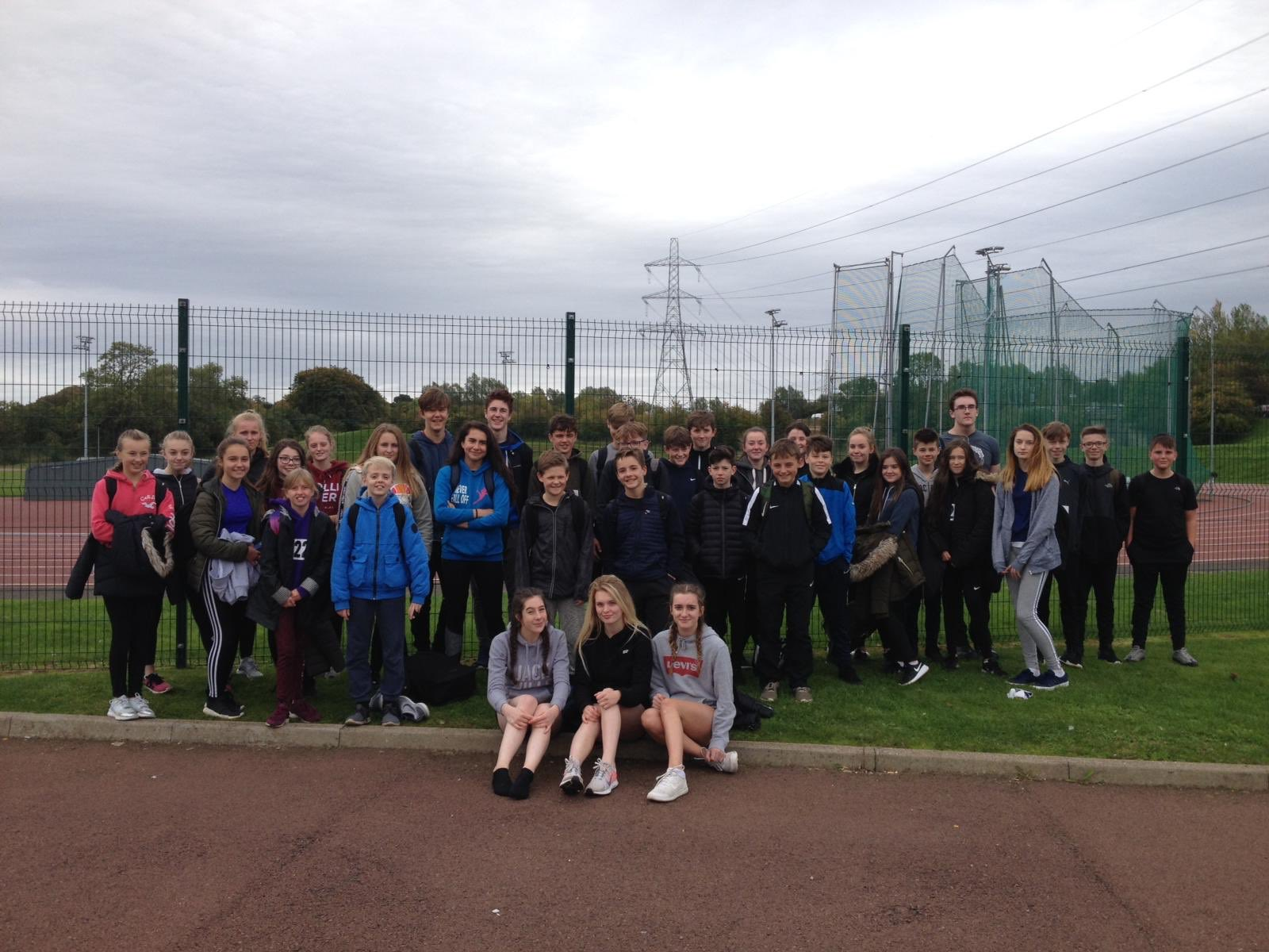 Girvan Academy Cross Country Competition