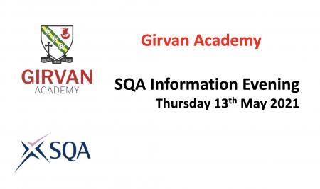 SQA Information Evening